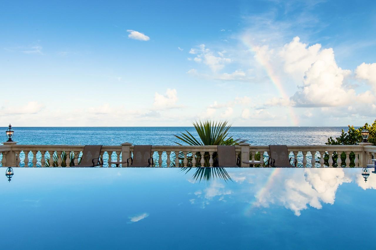 WIMCO Villas, Sandcastle, RIC SAN, Anguilla, Little Bay, Family Friendly Villa, 4 Bedroom Villa, 4 Bathroom Villa, Pool, View from Villa, WiFi