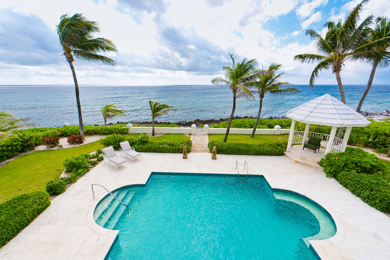 WIMCO Villas, On the Rocks, CM OTR, Grand Cayman, South Shore, Family Friendly Villa, 6 Bedroom Villa, 4 Bathroom Villa, Pool, View, Gazebo, Villa Pool, WiFi