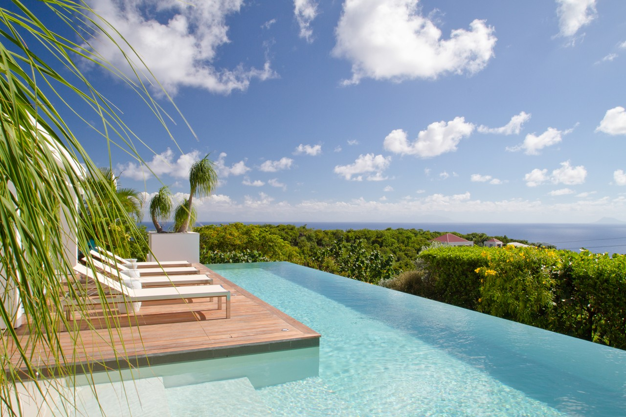WIMCO Villas, Bellissima, WV BJJ, St. Barthelemy, Gouverneur, Family Friendly Villa, 3 Bedroom Villa, 4 Bathroom Villa, Pool, View from Villa, WiFi