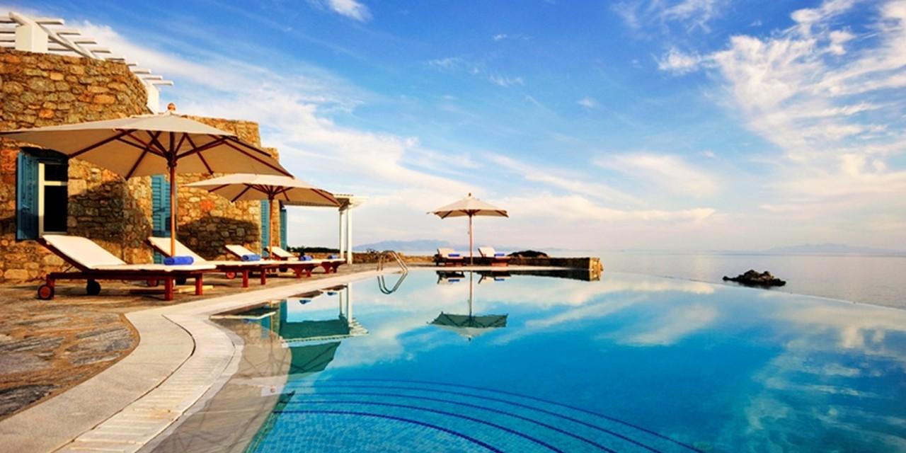 WIMCO Villas, Eros - Watermark Collection, LIV ERO, Greece, Mykonos, Family Friendly Villa, 5 Bedroom Villa, 3 Bathroom Villa, Pool, Villa Pool, WiFi