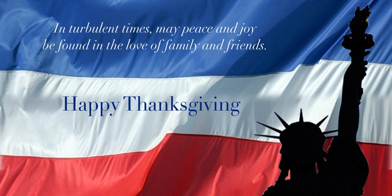 Happy Thanksgiving from WIMCO Villas