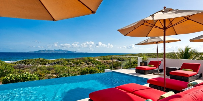 WIMCO Villas, Tequila Sunrise, RIC TEQ, Anguilla, Sandy Hill, Family Friendly Villa, 3 Bedroom Villa, 4 Bathroom Villa, Pool, Villa Pool, WiFi