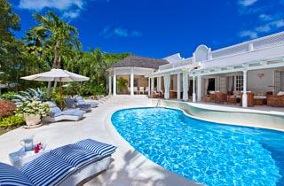 WIMCO Villas, Klairan - Sandy Lane, AA KLA, Barbados, Sandy Lane Estate - St. James, Family Friendly Villa, 4 Bedroom Villa, 4 Bathroom Villa, Pool, Villa Pool, WiFi