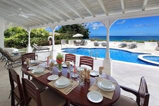 WIMCO Villas, Foster's House, RL FOS, Barbados, Gibbs Beach, Family Friendly Villa, 4 Bedroom Villa, 4 Bathroom Villa, Pool, Dining Room, WiFi
