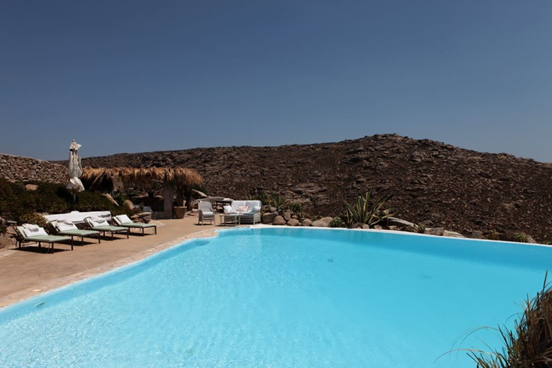 Greek Incredible Pools from WIMCO Villas