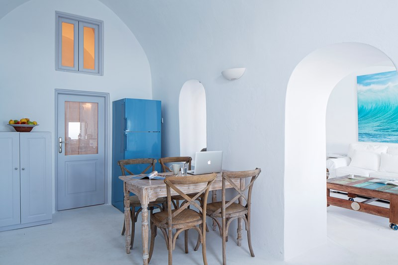 WIMCO Villas, Gaia, MED GAI, Greece, Santorini, Family Friendly Villa, 3 Bedroom Villa, 3 Bathroom Villa, Interior, WiFi