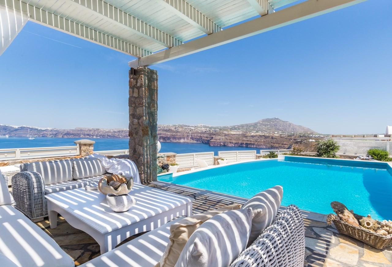 WIMCO Villas, Michaela Residence, MED MIC, Greece, Santorini, Family Friendly Villa, 5 Bedroom Villa, 3 Bathroom Villa, Pool, Terrace, WiFi