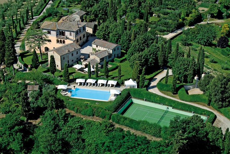 Italian Tennis Vacation Villas from WIMCO Villas