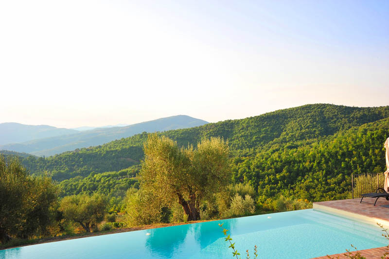 WIMCO Villas, Villa HII CAN, Cannelle, Umbria, Italy, Family-Friendly, Pool, 4 Bedroom, 4 Bathroom, View from Villa, WiFi