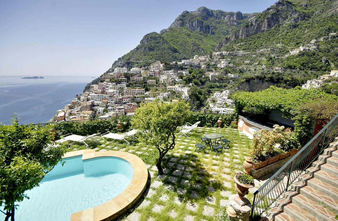 WIMCO Villas, Affresco, YPI AFF, Italy, Amalfi Coast, Family Friendly Villa, 7 Bedroom Villa, 6 Bathroom Villa, Pool, Villa Pool, WiFi