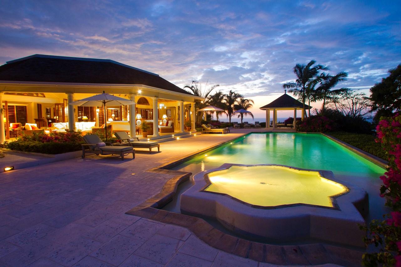 WIMCO Villas, Bougainvillea at the Tryall Club, VL BTC, Jamaica, Montego Bay, Family Friendly Villa, 5 Bedroom Villa, 6 Bathroom Villa, Pool, Jacuzzi, WiFi