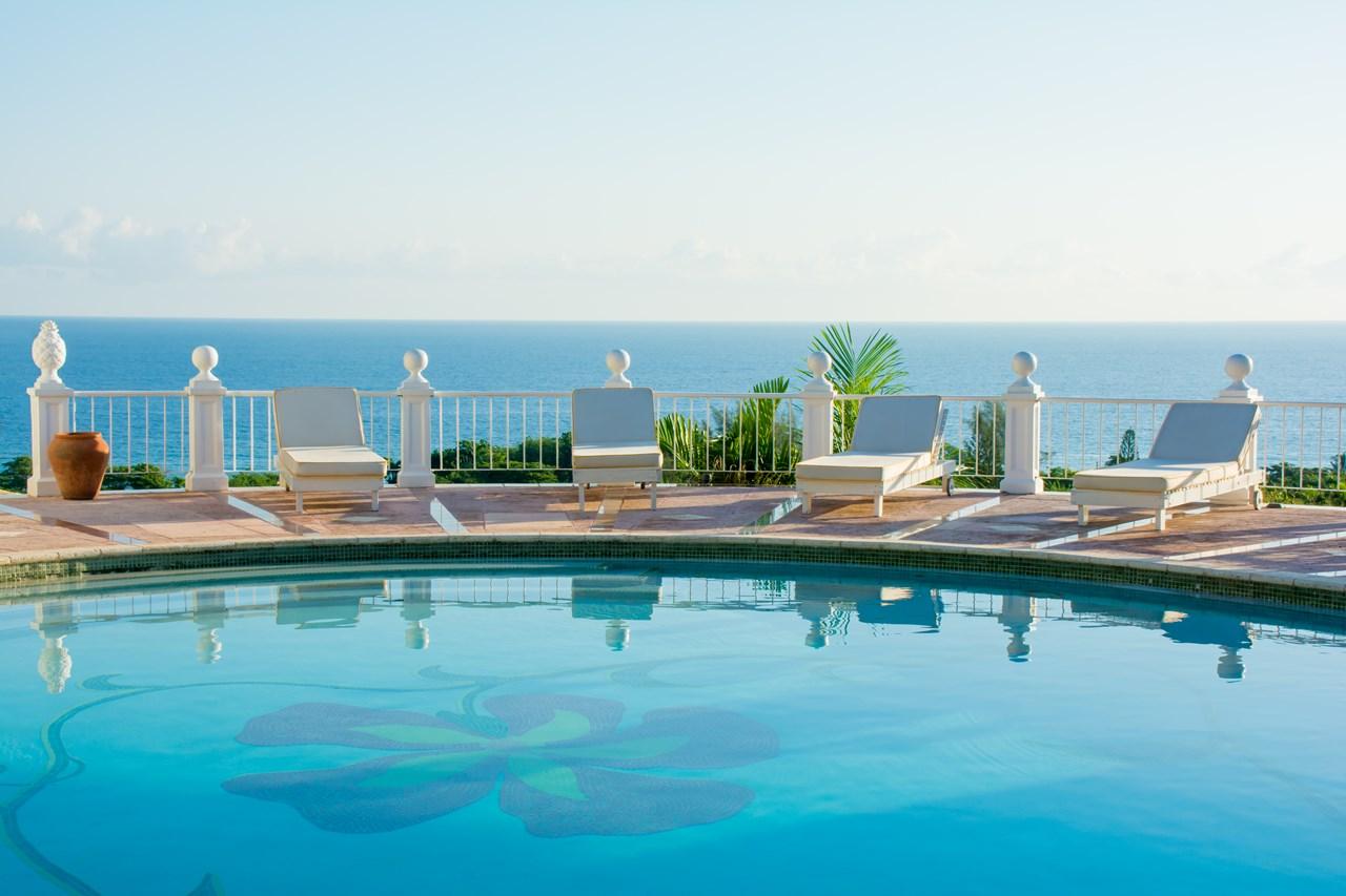 WIMCO Villas, Mahogany Hill at the Tryall Club, VL MHT, Jamaica, Montego Bay, Family Friendly Villa, 5 Bedroom Villa, 6 Bathroom Villa, Pool, Villa Pool, WiFi