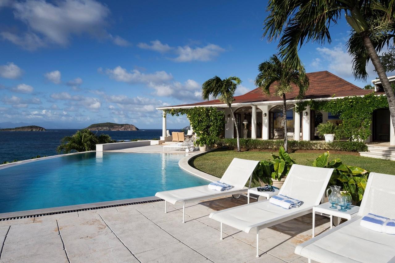 WIMCO Villas, L'Ansecoy House, MV LAN, Mustique, Hillside, Family Friendly Villa, 3 Bedroom Villa, 3 Bathroom Villa, Pool, Villa Pool, WiFi