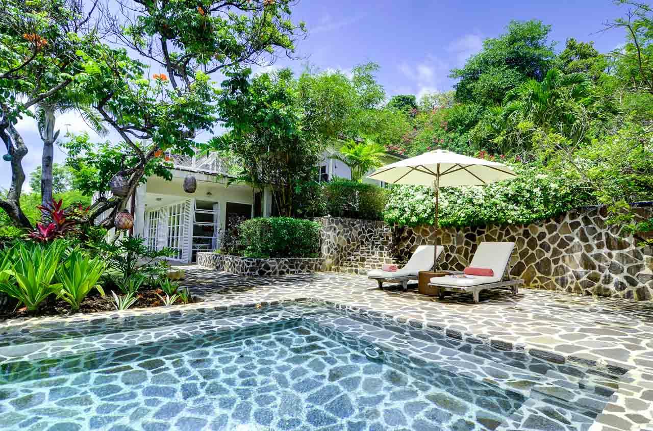 WIMCO Villas, MV MOA, Mustique, Hillside, 2 bedrooms, 2 bathrooms