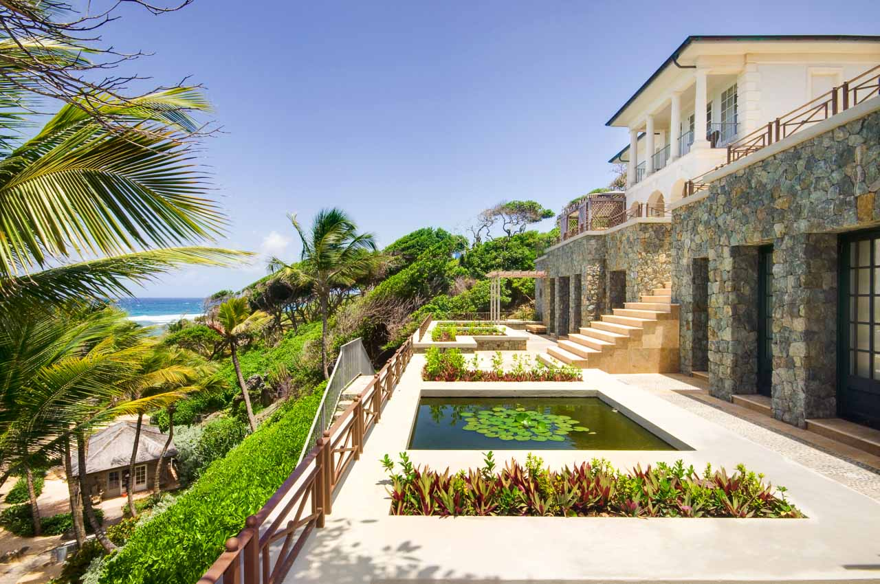WIMCO Villas, Sunrise, MV SUN, Mustique, Hillside, Family Friendly Villa, 5 Bedroom Villa, 5 Bathroom Villa, Pool, Exterior, WiFi
