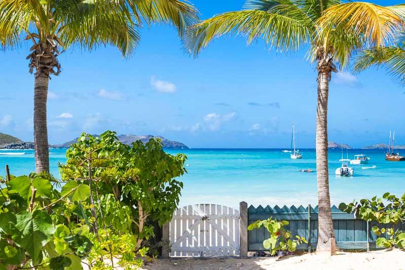 WIMCO Villas, Villa HEN CHG, Robinson Crusoe, St. Jean Beach, St. Barthelemy, No Pool, 1 Bedroom, 1 Bathroom, View from Villa, WiFi