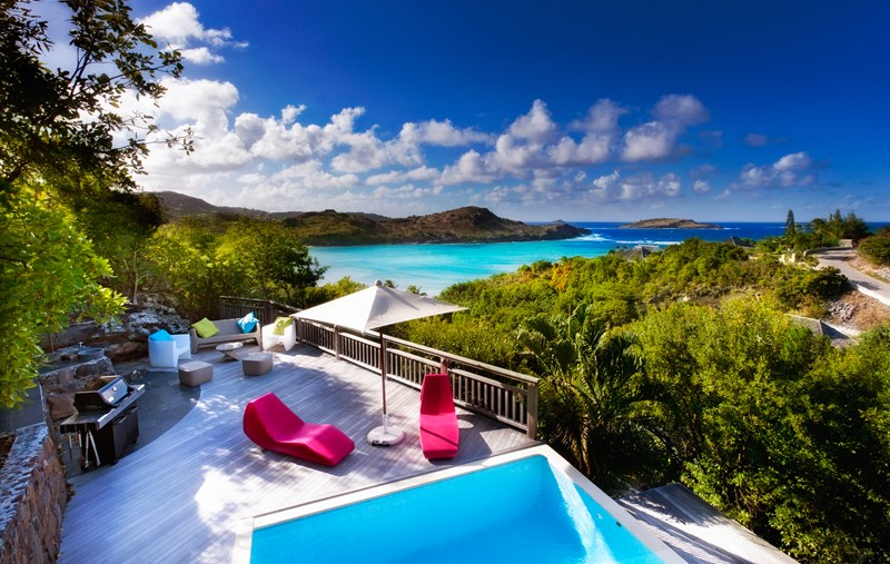 WIMCO Villas, Villa WV APL, Petit Lagon, Petit Cul de Sac, St. Barthelemy, Family-Friendly, Pool, 2 Bedroom, 2 Bathroom, Deck, WiFi