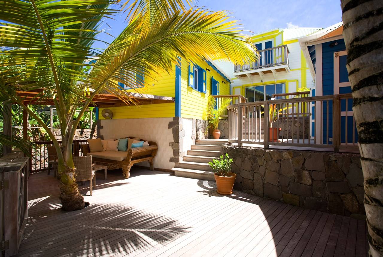 WIMCO Villas, WV BEA, St. Barthelemy, Marigot Beach, 3 bedrooms, 3.5 bathrooms