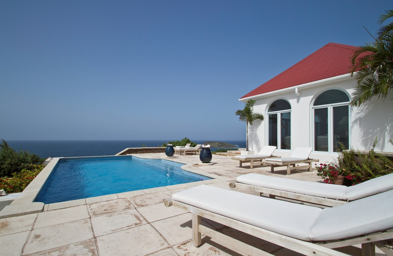 WIMCO Villas, WV BEV, St. Barthelemy, Mont Jean, 4 bedrooms, 4 bathrooms