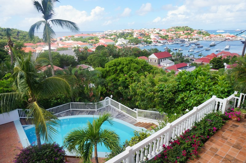 WIMCO Villas, Villa WV CCG, Colony Club A2, Gustavia, St. Barthelemy, Family-Friendly, Pool, 1 Bedroom, 1 Bathroom, View from Villa, WiFi