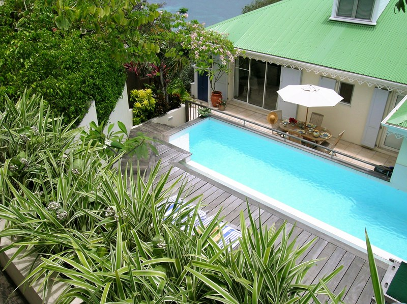 WIMCO Villas, Villa WV CEC, Case et Cuisine, Marigot, St. Barthelemy, Family-Friendly, Pool, 2 Bedroom, 2 Bathroom, Villa Pool, WiFi