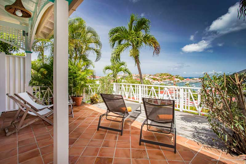 WIMCO Villas, Villa WV JPV, Colony Club Gustavia, Gustavia, St. Barthelemy, Family-Friendly, Pool, 1 Bedroom, 1 Bathroom, View from Villa, WiFi