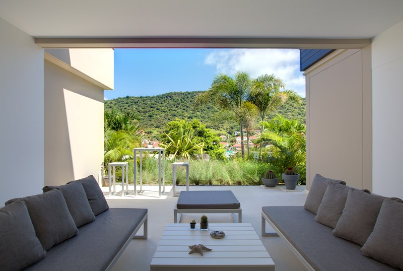 WIMCO Villas, Villa WV MIL, Apartment Camille, Gustavia, St. Barthelemy, No Pool, 1 Bedroom, 1 Bathroom, View from Villa, WiFi