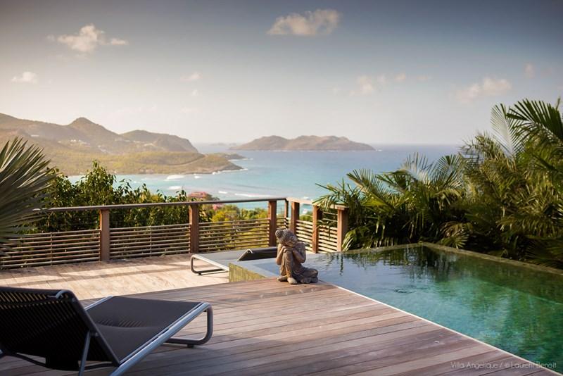 WIMCO Villas, St Barths, St Jean, Villa WV NGE, Villa Angelique, 4 Bedrooms, 4 Bathrooms, Pool