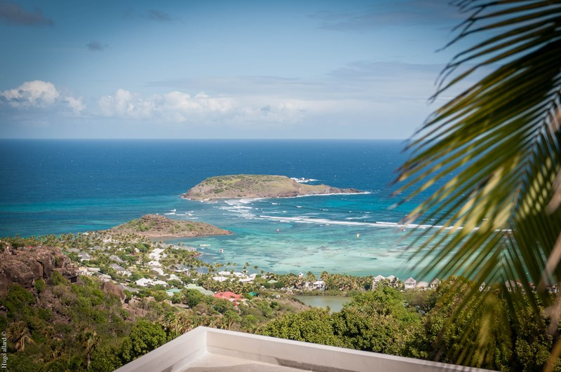 WIMCO Villas, Villa WV NKA, Nikaia, Vitet, St. Barthelemy, Family-Friendly, Pool, 2 Bedroom, 2 Bathroom, View from Villa, WiFi