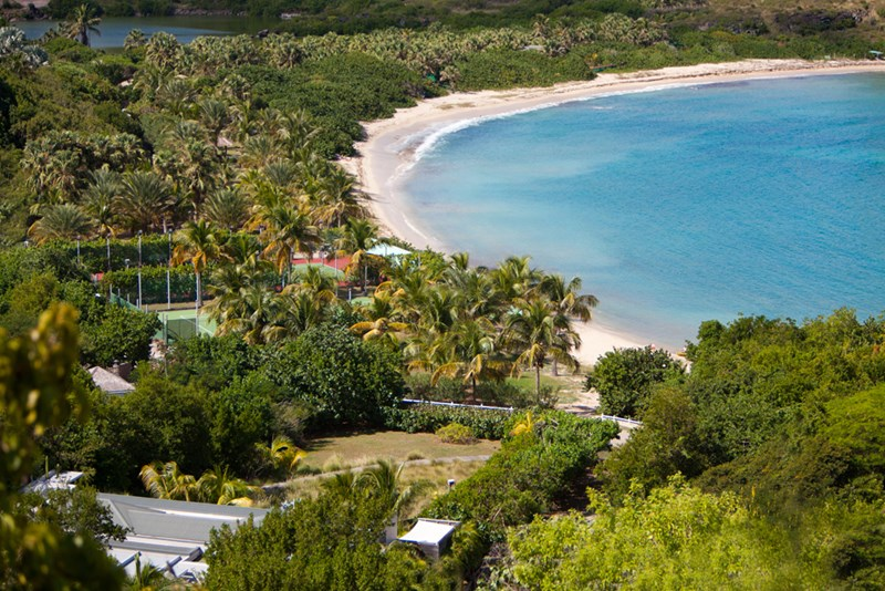 St Barths Tennis Vacation Villas from WIMCO Villas