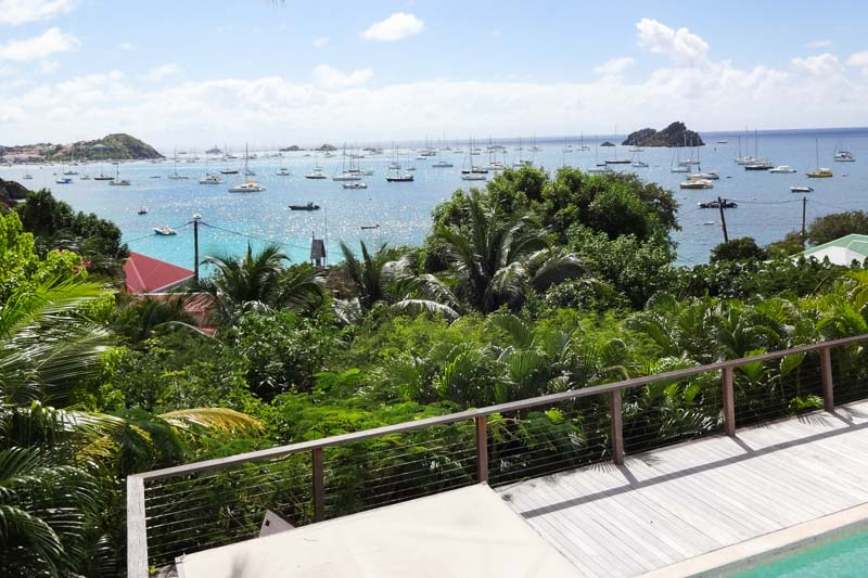 WIMCO Villas, Villa WV PSL, Petit Saint Louis, Corossol, St. Barthelemy, Pool, 1 Bedroom, 1 Bathroom, View from Villa, WiFi