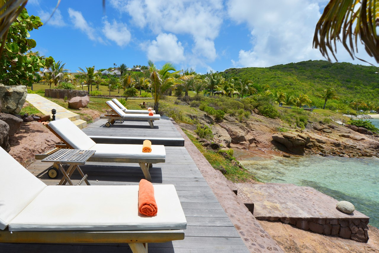 WIMCO Villas, La Vie en Rose, WV SUN, St. Barthelemy, St Barths, Petit Cul de Sac, Family Friendly Villa, 3 Bedroom Villa, 3 Bathroom Villa, Pool, Exterior, WiFi