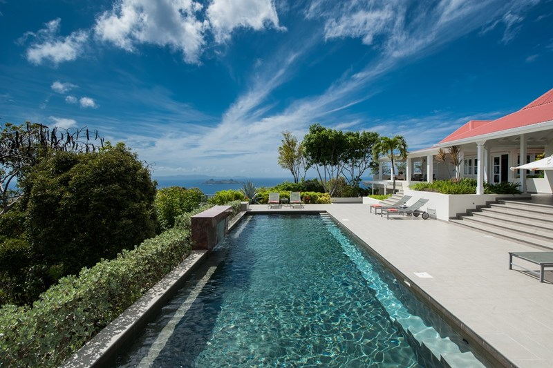 St Barths Incredible Pools from WIMCO Villas