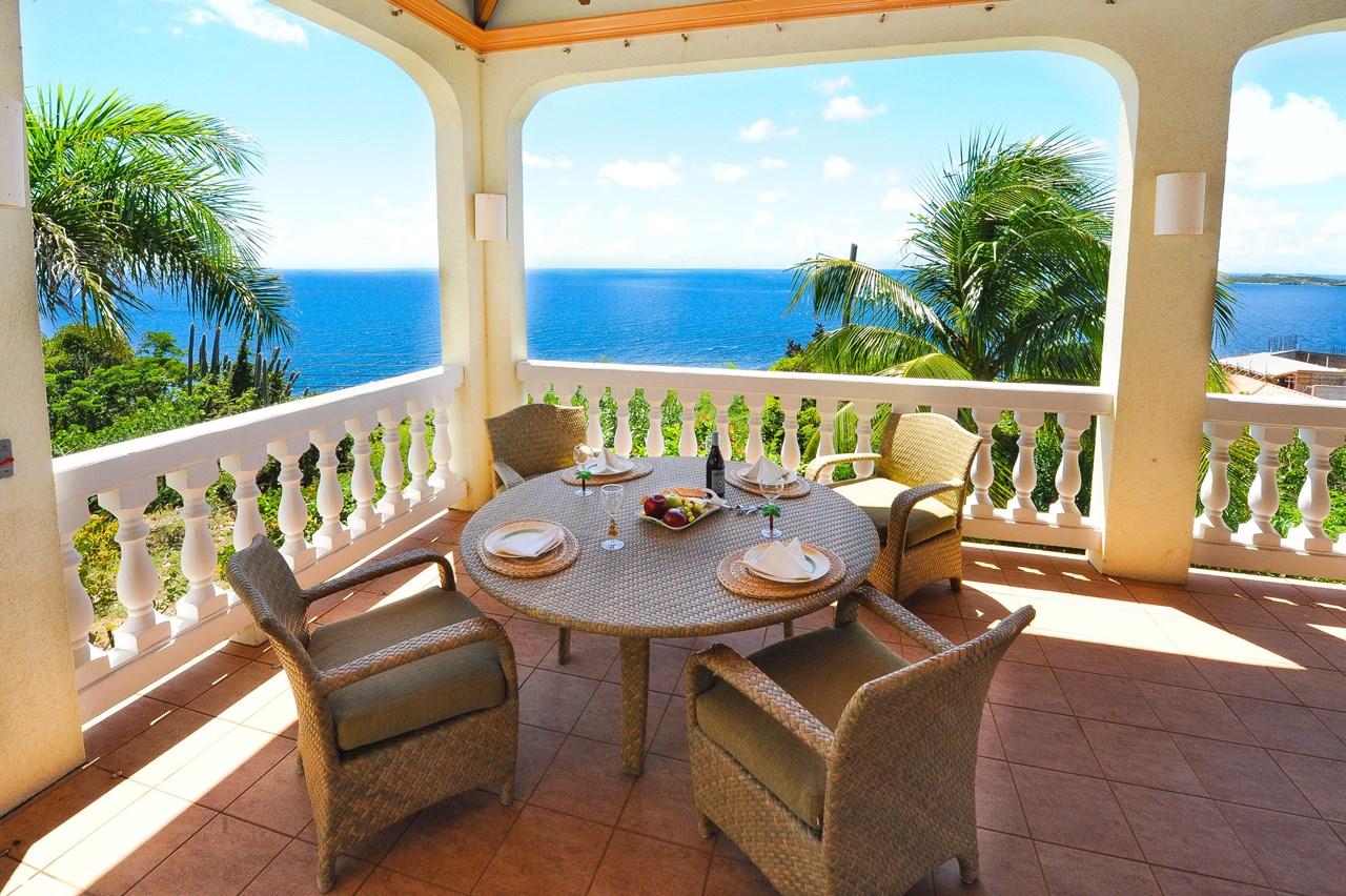 WIMCO Villas, Sea Palms, CT SPM, St. John, Great Cruz Bay, Family Friendly Villa, 3 Bedroom Villa, 4 Bathroom Villa, Pool, Dining Room, WiFi