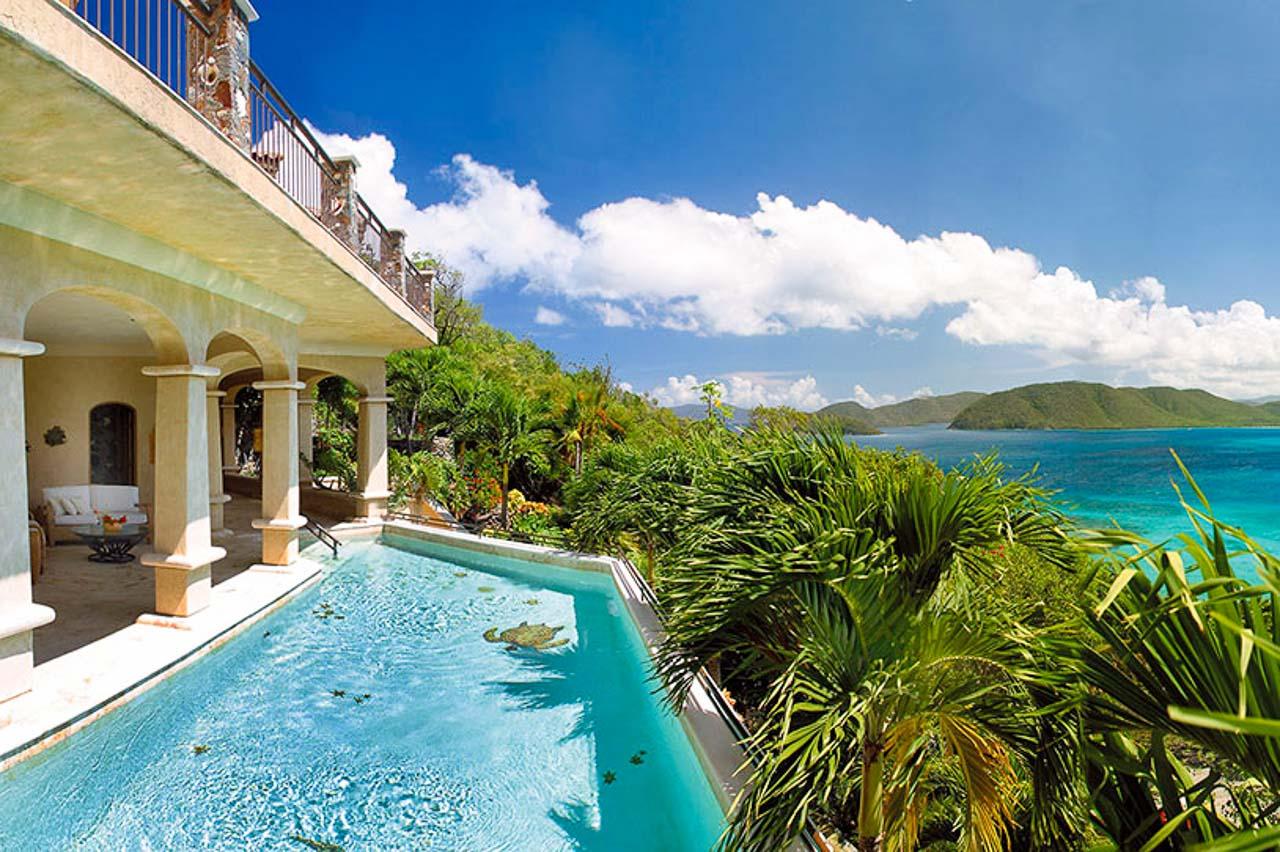 WIMCO Villas, MAS SEA, St. John, North Shore, 5 bedrooms, 5.5 bathrooms