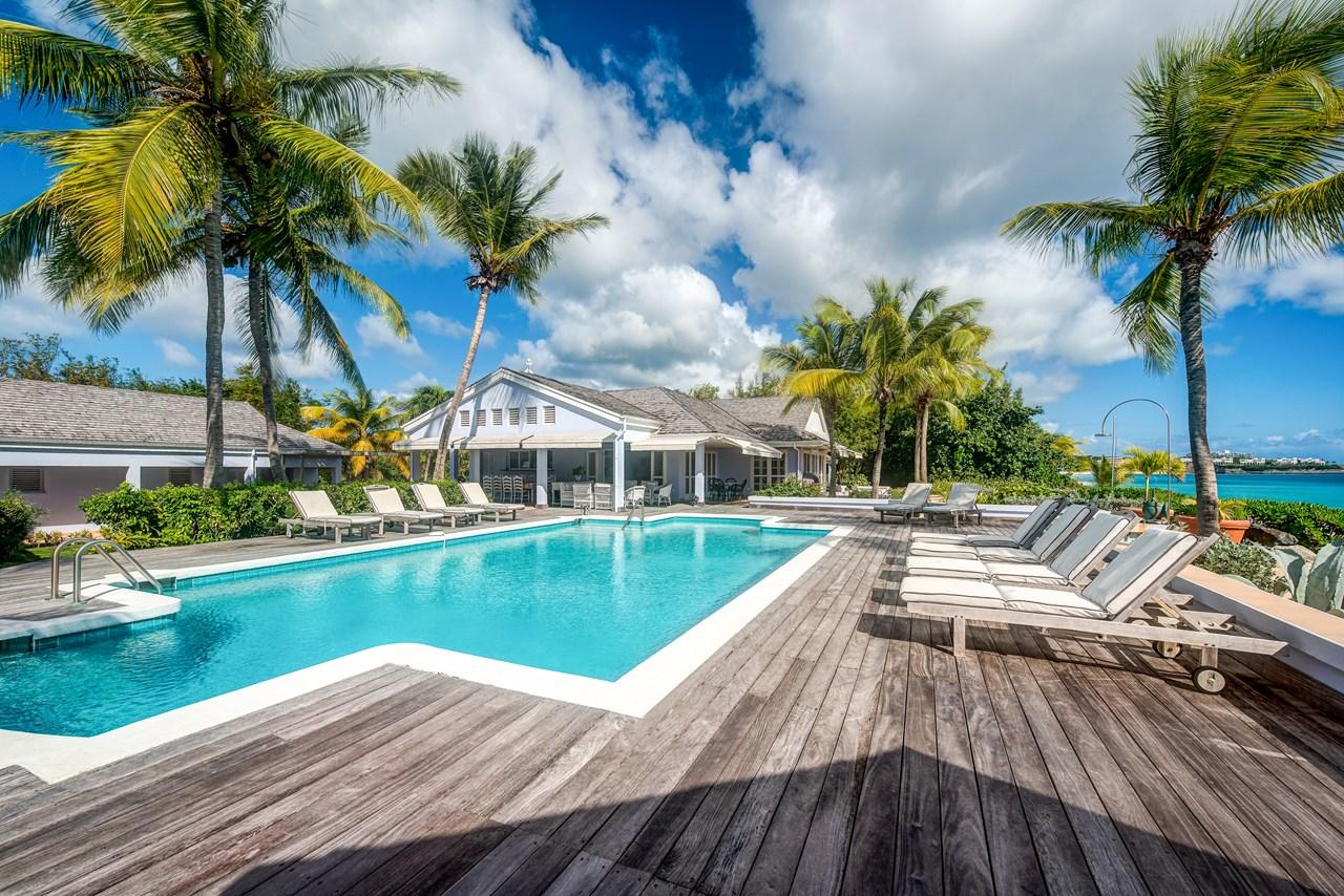 WIMCO Villas, Eden, C EDN, St. Martin, Beach Side/Baie Longue, Family Friendly Villa, 5 Bedroom Villa, 5 Bathroom Villa, Pool, Villa Pool, WiFi