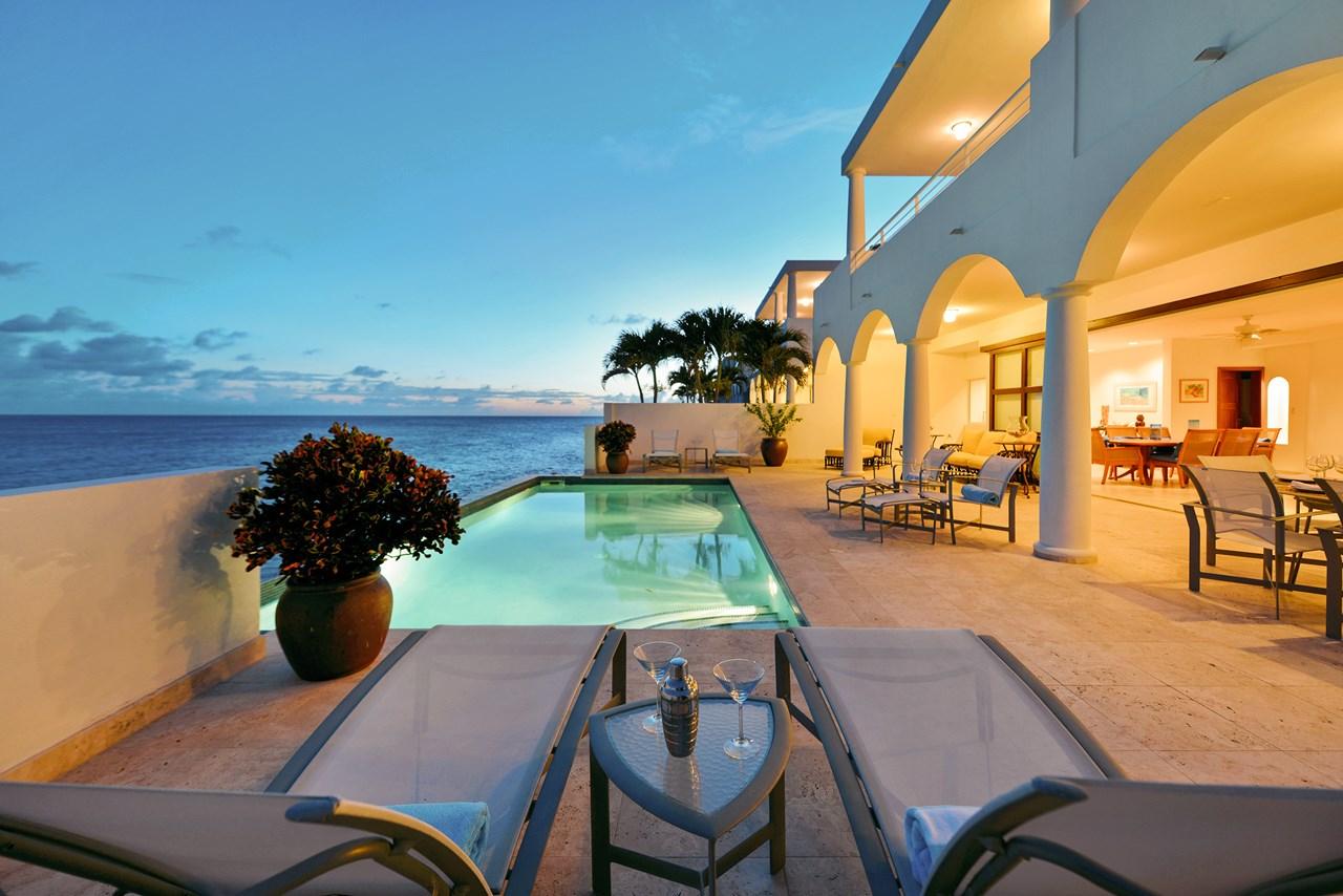 WIMCO Villas, Etoile de Mer, C ETO, St. Martin, Beachfront/Cupecoy, Family Friendly Villa, 4 Bedroom Villa, 4 Bathroom Villa, Pool, Villa Pool, WiFi
