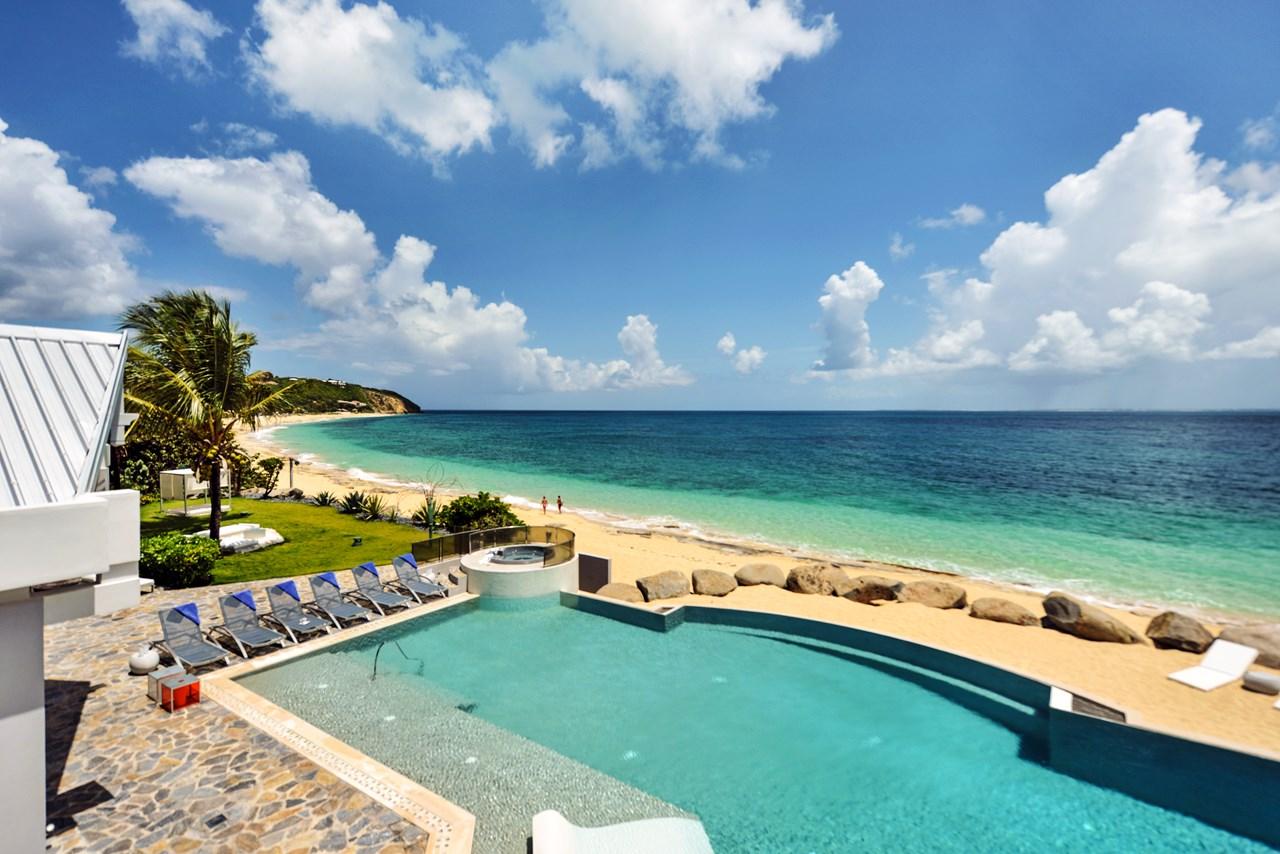 WIMCO Villas, C GLU, St. Martin, Beach Side/Baie Rouge, 8 bedrooms, 8 bathrooms