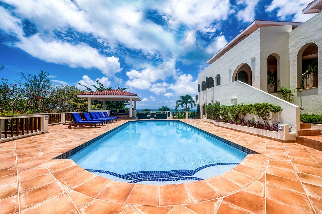 WIMCO Villas, C JDV, St. Martin, Beach Side/Baie Rouge, 3 bedrooms, 3 bathrooms