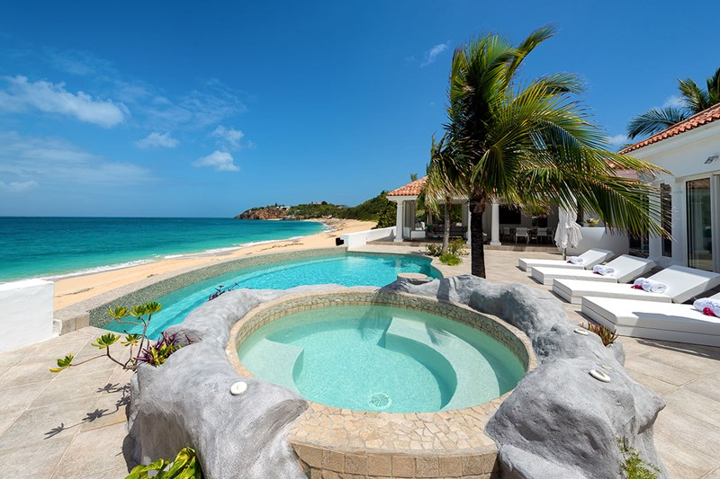 St Martin Incredible Pools from WIMCO Villas