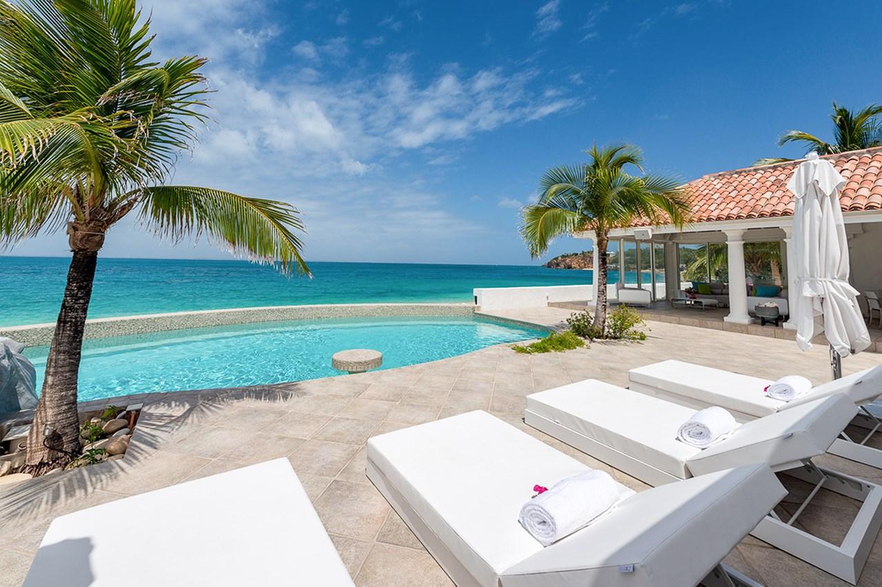 WIMCO Villas, Carisa, C LYM, St. Martin, Beach Side/Baie Rouge, Family Friendly Villa, 2 Bedroom Villa, 2 Bathroom Villa, Pool, Villa Pool, WiFi