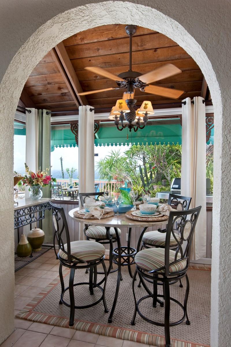 WIMCO Villas, Seabright, MA SEA, St. Thomas, Magens Bay, Family Friendly Villa, 2 Bedroom Villa, 2 Bathroom Villa, Pool, Dining Room, WiFi