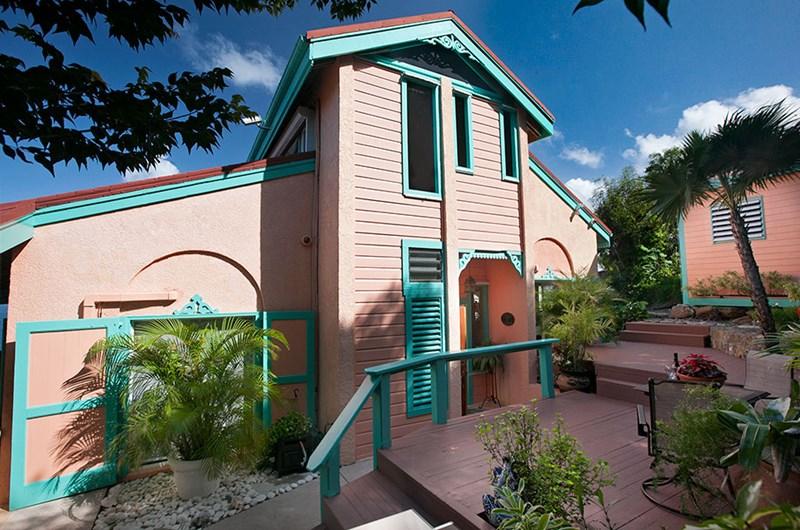 WIMCO Villas, Seabright, MA SEA, St. Thomas, Magens Bay, Family Friendly Villa, 2 Bedroom Villa, 2 Bathroom Villa, Pool, Exterior, WiFi
