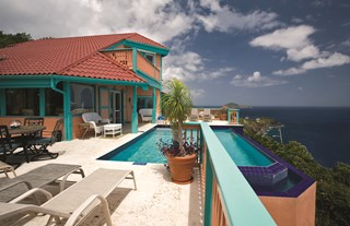 WIMCO Villas, Seabright, MA SEA, St. Thomas, Magens/Peterborg, Family Friendly Villa, 2 Bedroom Villa, 2 Bathroom Villa, Pool, Villa Pool, WiFi