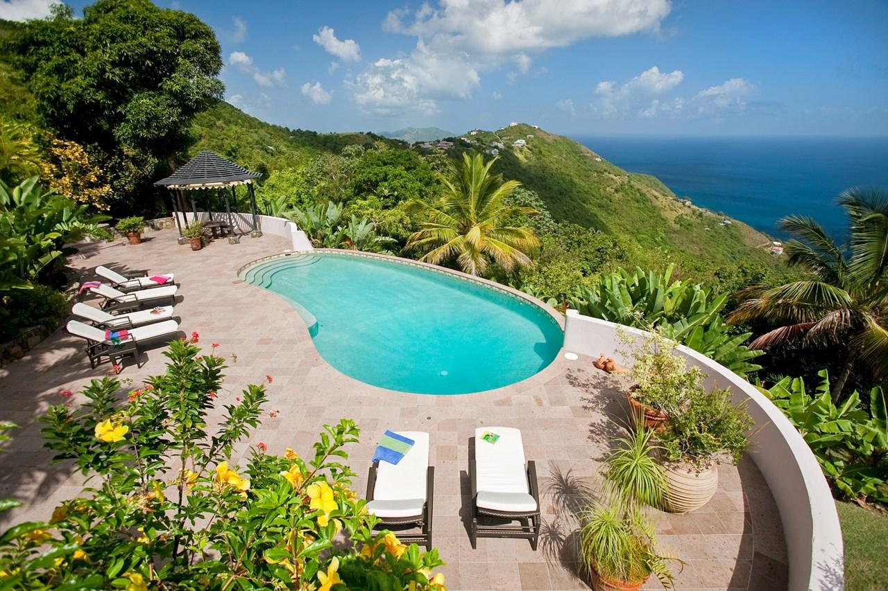 WIMCO Villas, MAT CAN, Tortola, NW/Green Bank, 3 bedrooms, 3.5 bathrooms