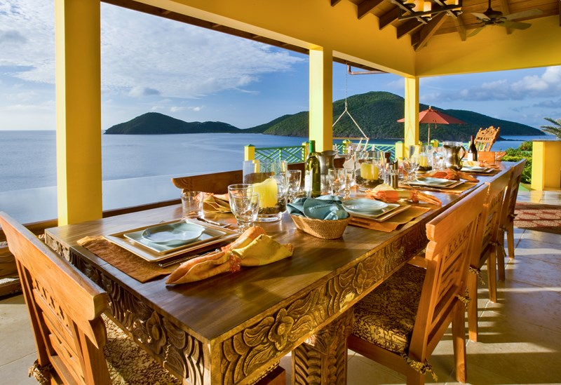 Virgin Islands Villas with Staff in St Thomas, St John, Tortola, Virgin Gorda from WIMCO Villas