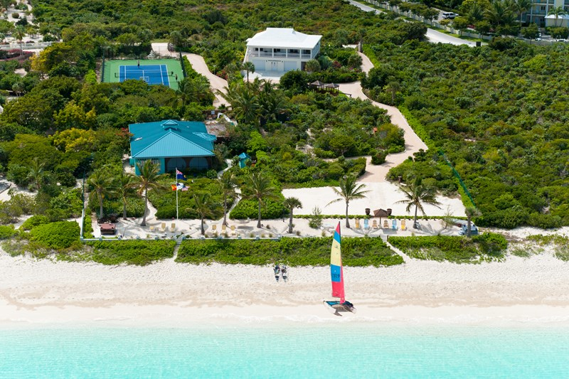 Turks and Caicos Tennis Vacation Villas from WIMCO Villas