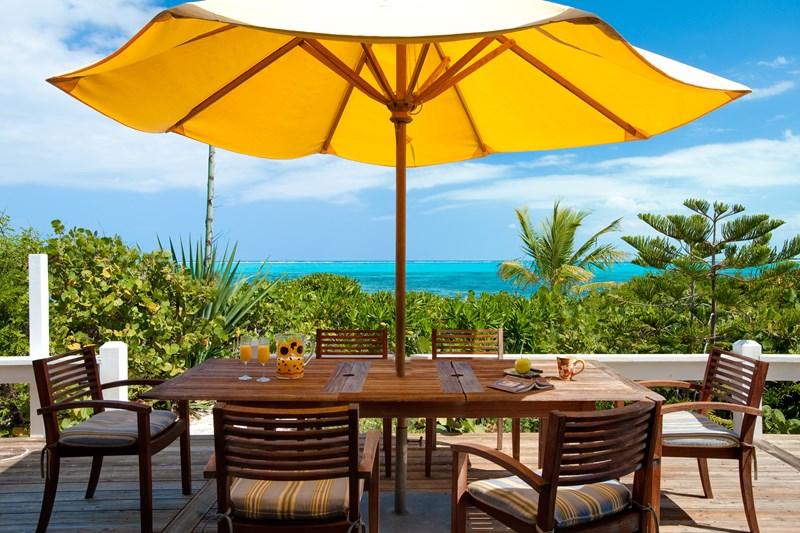 WIMCO Villas, Reef Beach House, TNC RFB, Turks & Caicos, Grace Bay/Beachside, Family Friendly Villa, 4 Bedroom Villa, 3 Bathroom Villa, Pool, Dining Room, WiFi
