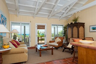 WIMCO Villas, Reef Beach House, TNC RFB, Turks & Caicos, Grace Bay/Beachside, Family Friendly Villa, 4 Bedroom Villa, 3 Bathroom Villa, Pool, Living Room, WiFi