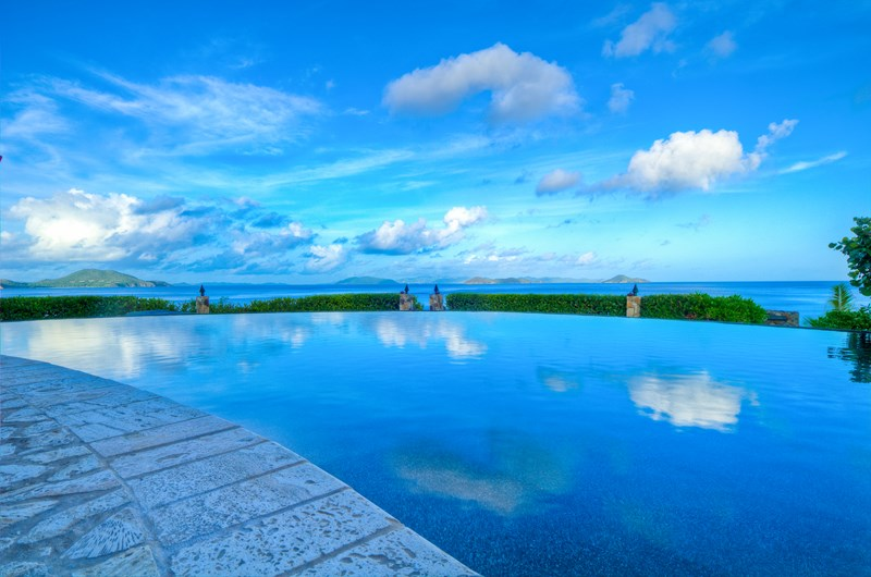Virgin Islands Incredible Pools in St Thomas, St John, Tortola, Virgin Gorda from WIMCO Villas